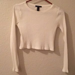 cropped long sleeve worn once